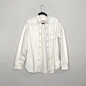 Brooks Brothers Men's Button Down White Shirt